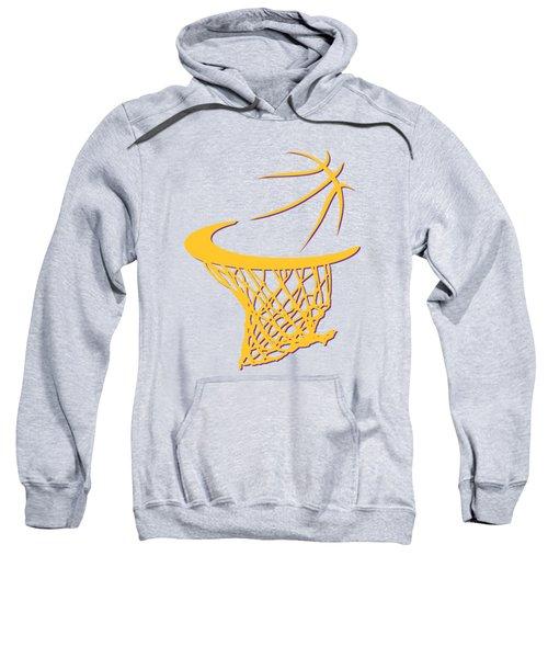 Lakers Basketball Hoop Sweatshirt by Joe Hamilton