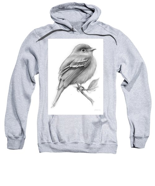 Least Flycatcher Sweatshirt by Greg Joens