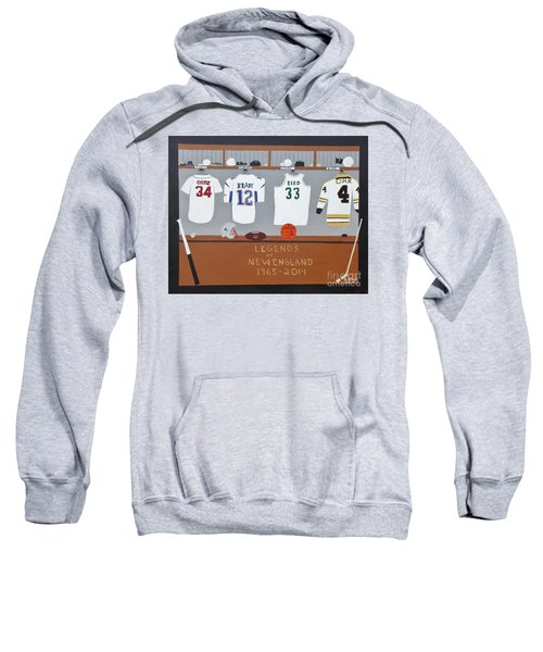 Legends Of New England Sweatshirt by Dennis ONeil