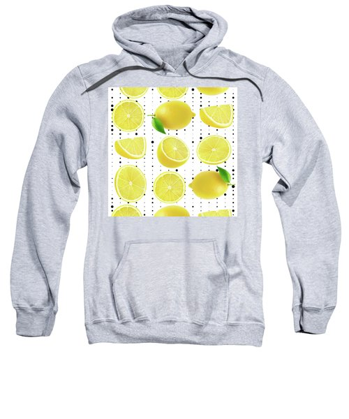 Lemon  Sweatshirt by Mark Ashkenazi