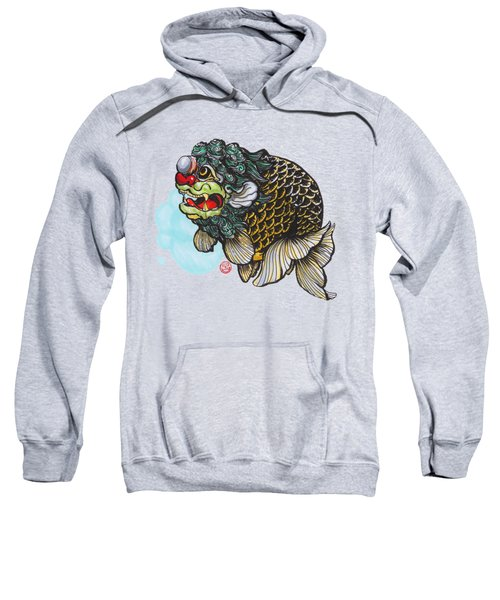 Lion Head Ranchu Sweatshirt by Shih Chang Yang