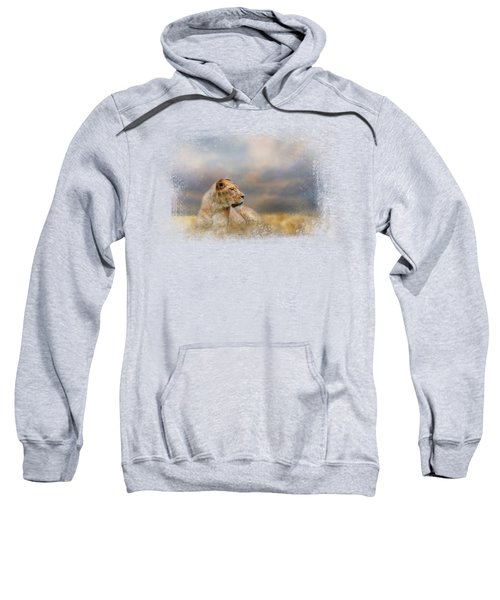 Lioness After The Storm Sweatshirt by Jai Johnson