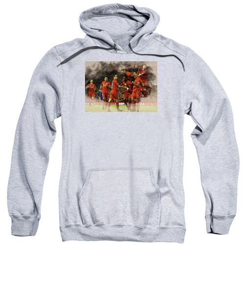 Liverpool V Leicester City Sweatshirt by Don Kuing