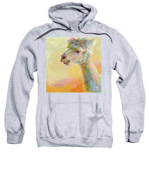Lolly Llama Sweatshirt by Kimberly Santini