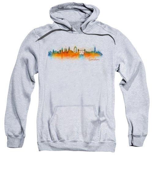 London City Skyline Hq V3 Sweatshirt by HQ Photo