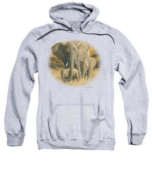Loving Mother Sweatshirt by Lucie Bilodeau