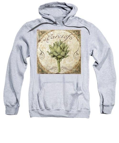 Mangia Carciofo Artichoke Sweatshirt by Mindy Sommers