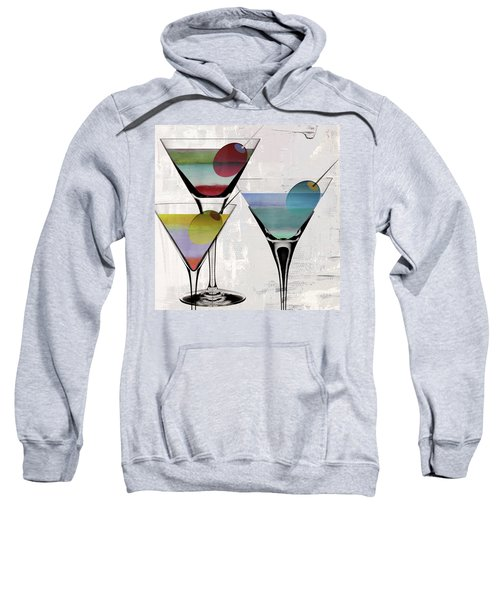 Martini Prism Sweatshirt by Mindy Sommers