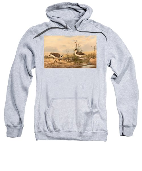 Masked Lapwing Sweatshirt by Mountain Dreams
