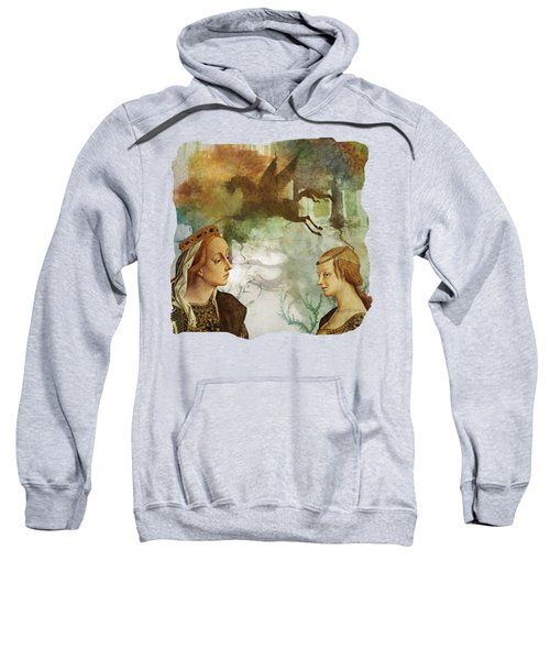 Medieval Dreams Sweatshirt by Terry Fleckney