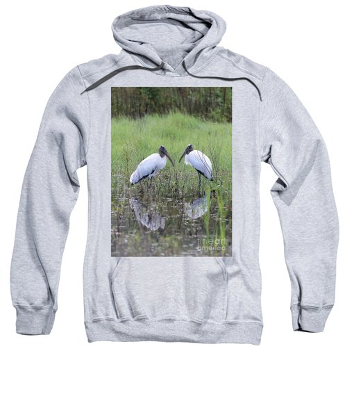 Meeting Of The Minds Sweatshirt by Carol Groenen