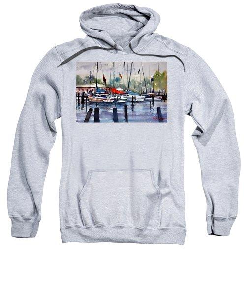 Menominee Marina Sweatshirt by Ryan Radke