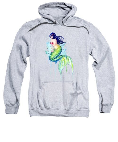 Mermaid Splash Sweatshirt by Sam Nagel