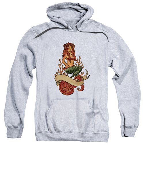 Mermaid Sweatshirt by Susan Wall