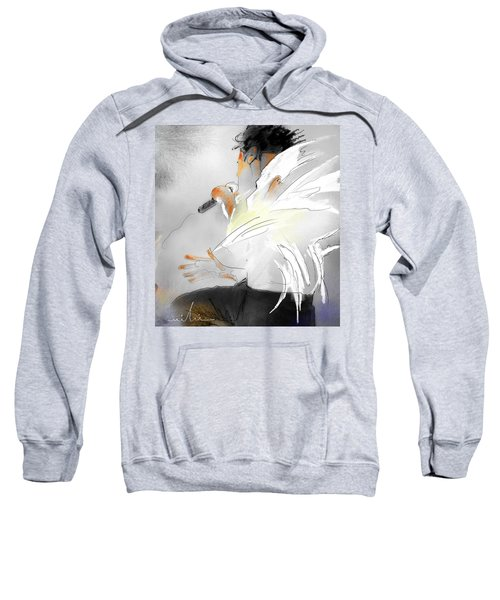 Michael Jackson 08 Sweatshirt by Miki De Goodaboom