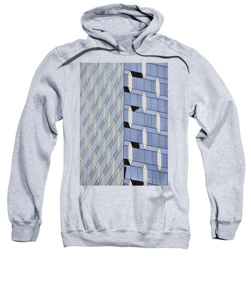 Midtown Architecture  Sweatshirt by Sandy Taylor