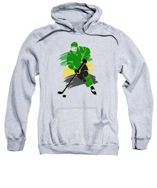 Minnesota North Stars Player Shirt Sweatshirt by Joe Hamilton