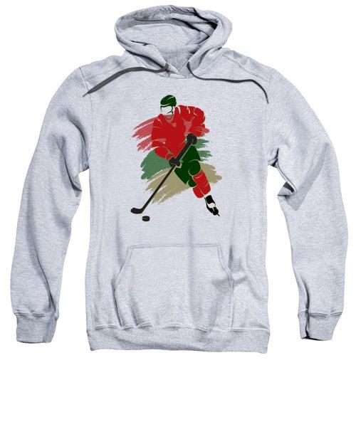 Minnesota Wild Player Shirt Sweatshirt by Joe Hamilton