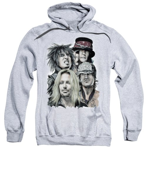 Motley Crue Sweatshirt by Melanie D