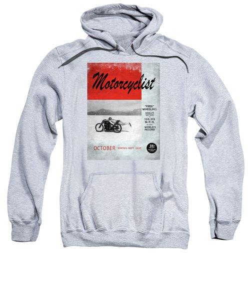 Motorcyclist Magazine - Rollie Free Sweatshirt by Mark Rogan