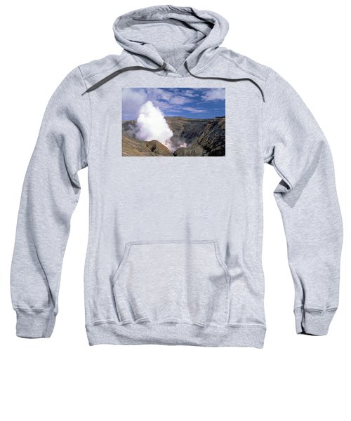 Sweatshirt featuring the photograph Mount Aso by Travel Pics
