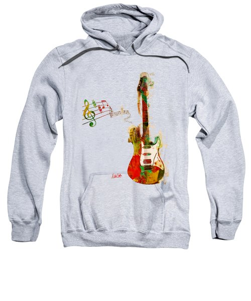 My Guitar Can Sing Sweatshirt by Nikki Smith