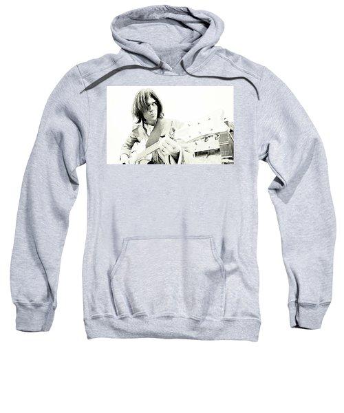 Neil Young Watercolor Sweatshirt by John Malone