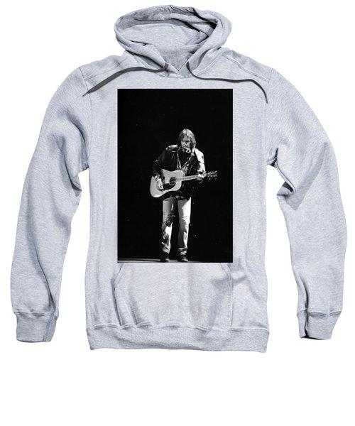 Neil Young Sweatshirt by Wayne Doyle