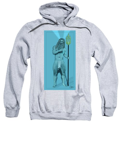 Blue Neptune Sweatshirt by Quim Abella