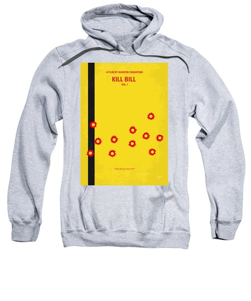 No048 My Kill Bill -part 1 Minimal Movie Poster Sweatshirt by Chungkong Art