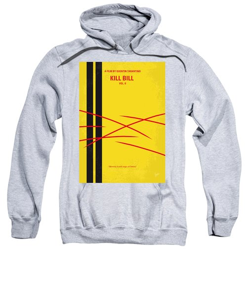 No049 My Kill Bill-part2 Minimal Movie Poster Sweatshirt by Chungkong Art