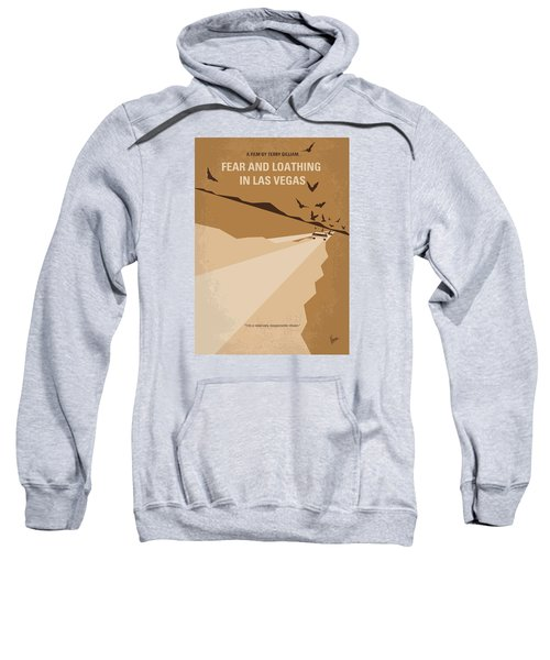 No293 My Fear And Loathing Las Vegas Minimal Movie Poster Sweatshirt by Chungkong Art