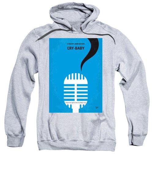 No505 My Cry-baby Minimal Movie Poster Sweatshirt by Chungkong Art