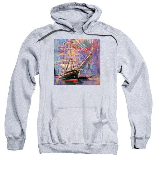 Old Ship 226 4 Sweatshirt by Mawra Tahreem