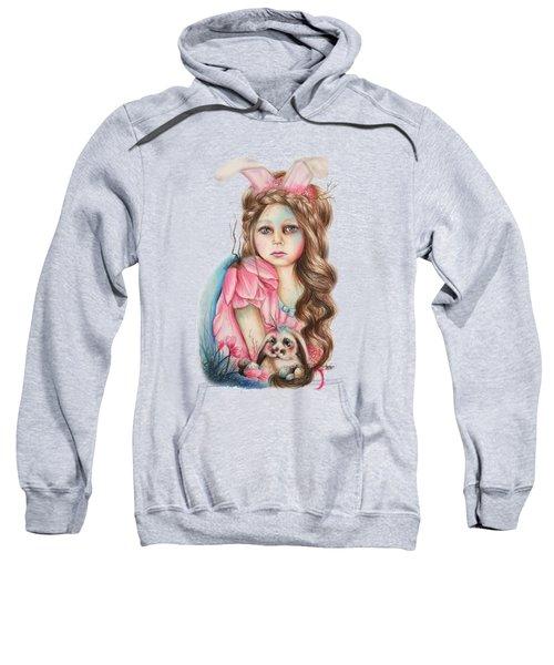 Only Friend In The World - Bunny Sweatshirt by Sheena Pike