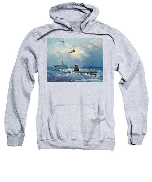 Operation Kama Sweatshirt by Valentin Alexandrovich Pechatin