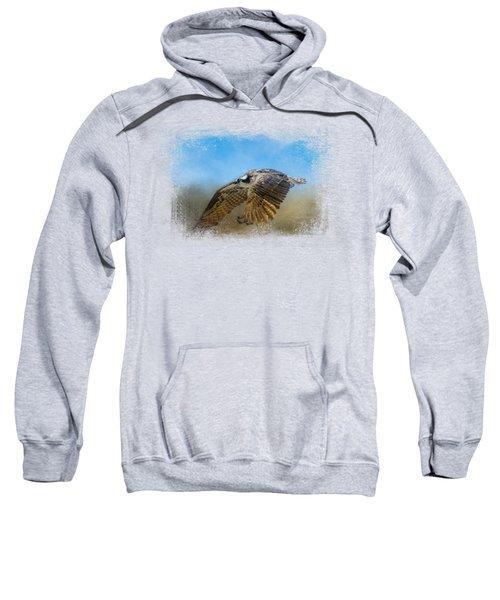 Osprey Over Pickwick Sweatshirt by Jai Johnson