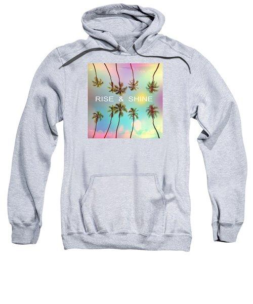 Palm Trees Sweatshirt by Mark Ashkenazi