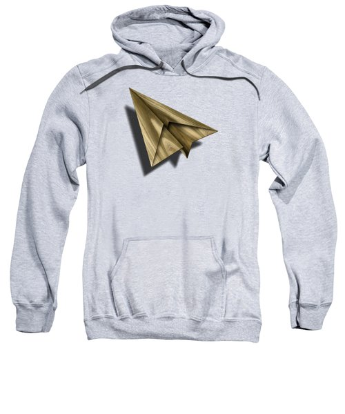 Paper Airplanes Of Wood 18 Sweatshirt by YoPedro
