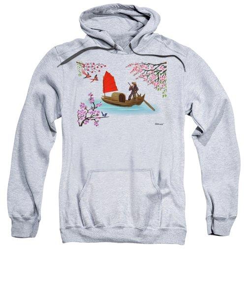 Peaceful Journey Sweatshirt by Glenn Holbrook