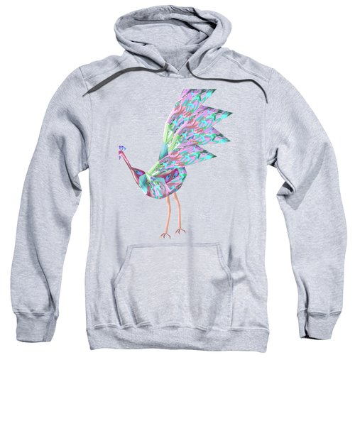 Peacock Dance A Sweatshirt by Thecla Correya