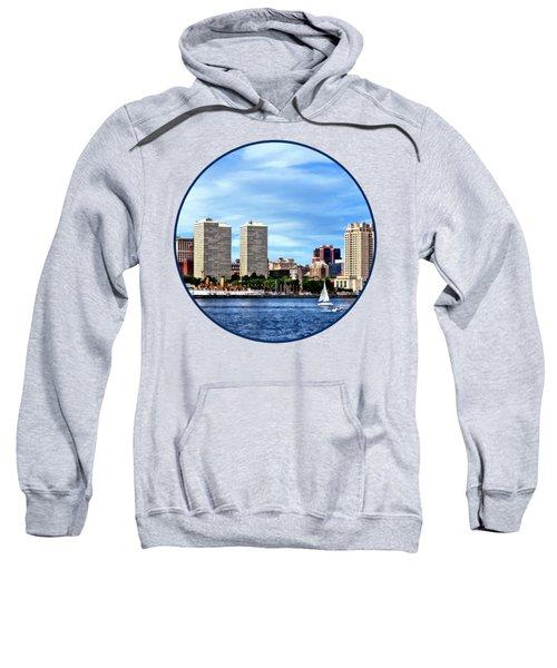 Philadelphia Pa Skyline Sweatshirt by Susan Savad