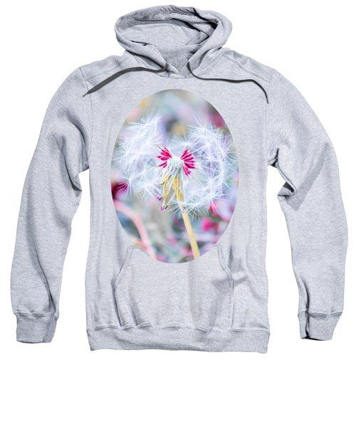 Pink Dandelion Sweatshirt by Parker Cunningham