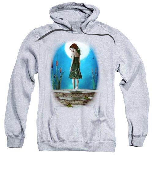 Pond Of Dreams Sweatshirt by Brandy Thomas