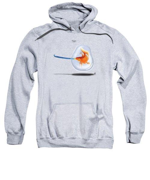 Popper Sweatshirt by Rob Snow
