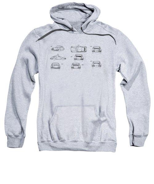 Porsche 911 Patent Sweatshirt by Mark Rogan
