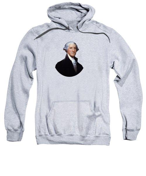 President George Washington Sweatshirt by War Is Hell Store