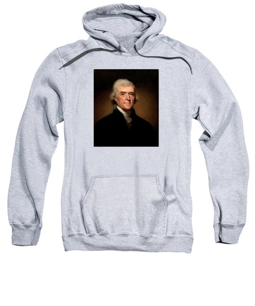 President Thomas Jefferson  Sweatshirt by War Is Hell Store