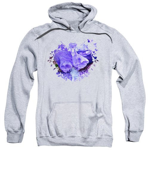 Pretty Purple Sweatshirt by Anita Faye
