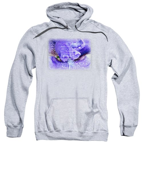 Pretty Purple - Verse Sweatshirt by Anita Faye